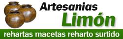 Artesanias Limon - Reharto surtido Rehartas macetas