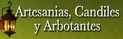 Artesanias Candiles y Arbotantes