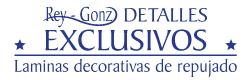 Rey Gonz - Laminas decorativas de repujado